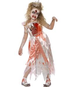 Disfraz de Princesa Zombie Infantil