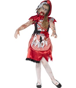 Costume Little Red riding hood's Zombie Child