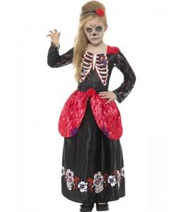 Kostüm Catrina Deluxe Kinder