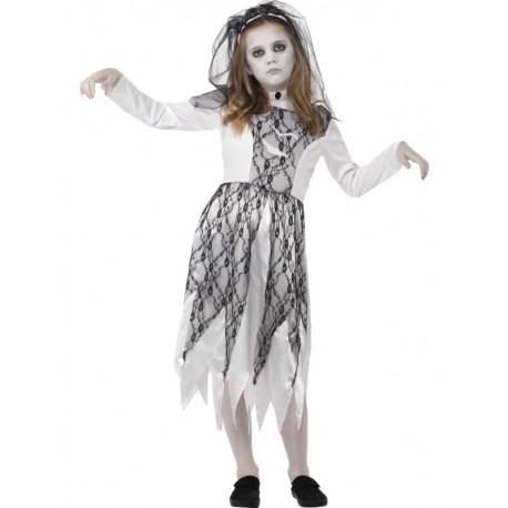 Disfraz de Novia Fantasma Infantil