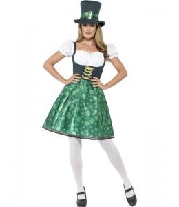 Disfraz de Leprechaun Mujer