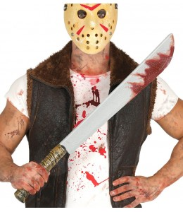 Machete con Sangre 74cms