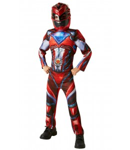 Disfraz de Red Ranger Movie Infantil