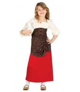 Disfraz de Posadera Infantil