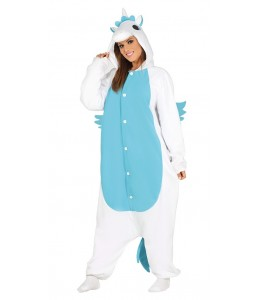 Disfraz de Unicornio Pijama Azul
