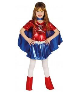 Disfraz de Power Woman Infantil