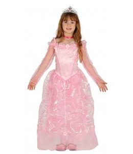 Costume de Princesse Rose Enfant