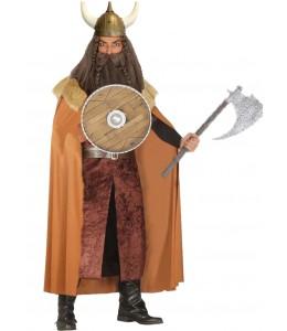 Disfraz de Rey Vikingo Marron