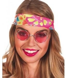 Gafas Hippie Pequeñas Rosas