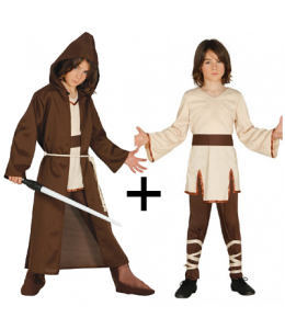 Disfraz de Maestro espiritual Completo infantil
