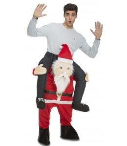 Disfraz de Papa Noel a Hombros