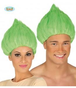 Peluca Trolls Verde