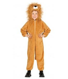 Costume de Leon animal en Peluche Enfant