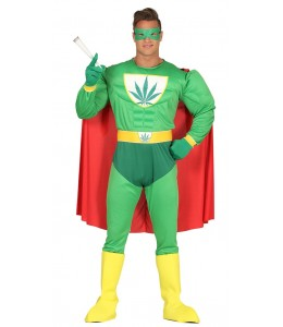 Disfraz de Marihuanaman
