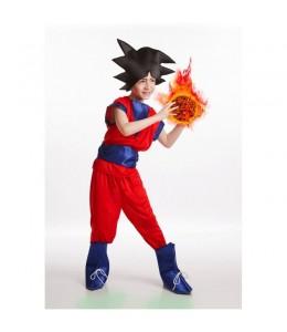 Costume de Goku Rouge