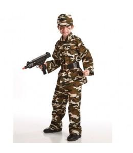 Costume de Militaire de l'Enfant