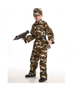 Costume of a Military Child
