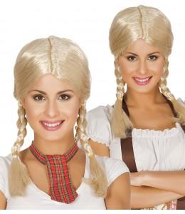 Perruque Blonde Trnzas