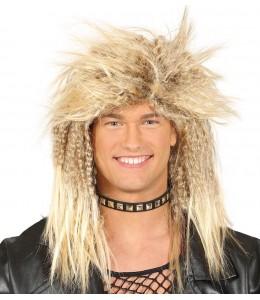 Wig Blonde Rock 90's