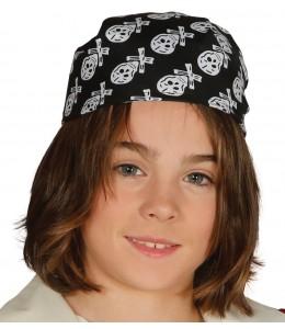 Sombrero Pirata Infantil Calaveras