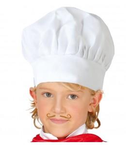 Gorro Cocinero de Tela Infantil
