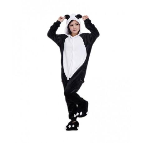 Disfraz de Oso Panda Pijama Peluche
