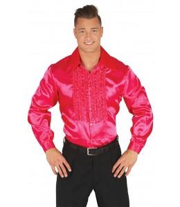 Camisa Disco Rosa