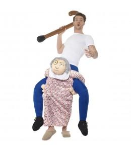 Il travestimento di una Nonna Spalla