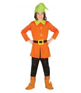 Costume Enanito Foresta Bambino
