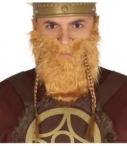 Barba y Bigote de Barbaro con Adhesivo