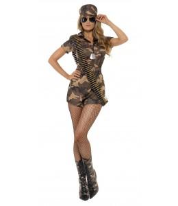 Disfraz de Mono Militar Corto