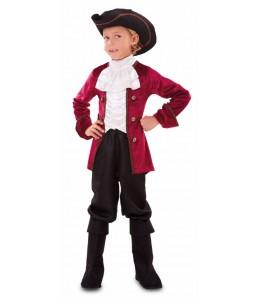 Disfraz de Pirata Granate Infantil