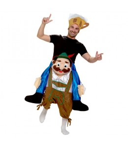 Costume tyrolienne Épaules