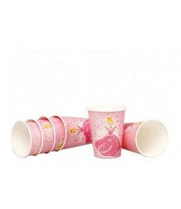Vasos de Princesas 6 unid