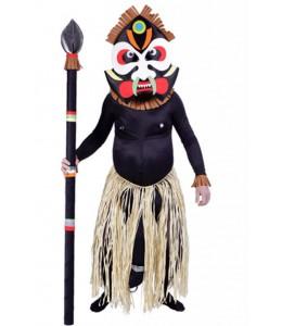 Disfraz de Zulu Mandinga