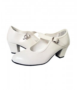 Zapatos Sevillana Blanco