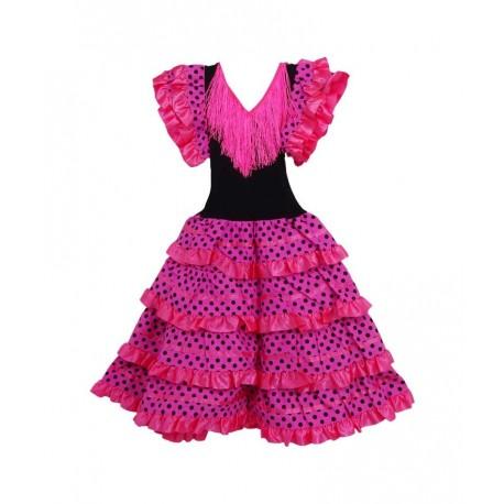 Infantil Sevillana Y Disfraz Rosa Comprar 12 De 00 Por Solo Negro wYUCYqd