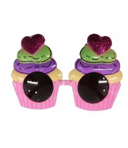 Gafas de cupcake