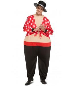 Kostüm Flamenco Mollig