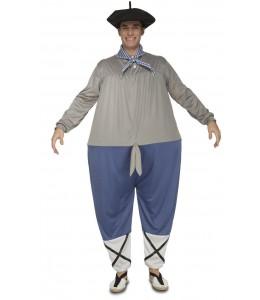 Costume Fait Maison Joufflu