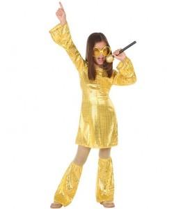 Costume Golden Disk Fille