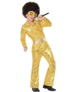 Costume Disque D'Or Enfant