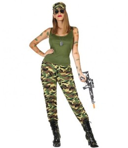 Militar chica