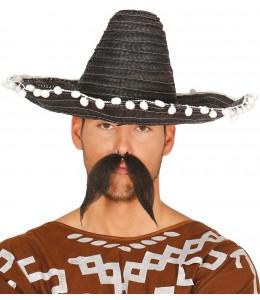 Sombrero Mejicano 45cm Negro