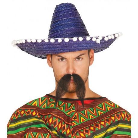 f7a1c278692a3 Comprar Sombrero Mejicano 45cm Azul por solo 4.00€ – Tienda de ...