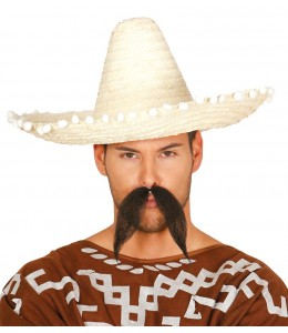 Sombrero Mejicano 45cm Amarillo