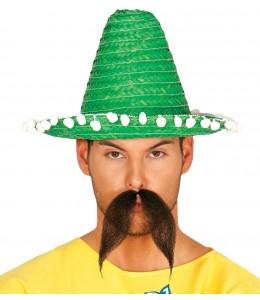 Sombrero Mejicano 33cm Verde