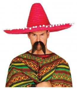 Sombrero Mejicano Paja 60cm