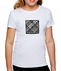 T-Shirt Azulejo Menina