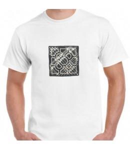 T-Shirt Fliese Mann